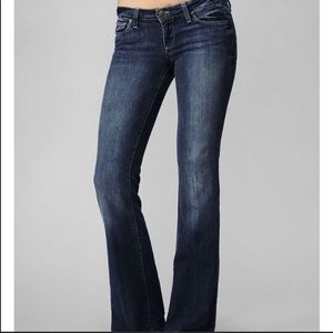 Paige sz 27 premium denim boot cut jeans